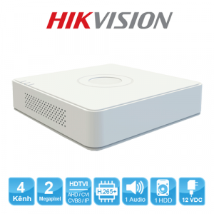 Đầu ghi camera 4 kênh Hikvison HDTVI DS-7104HQHI-K1