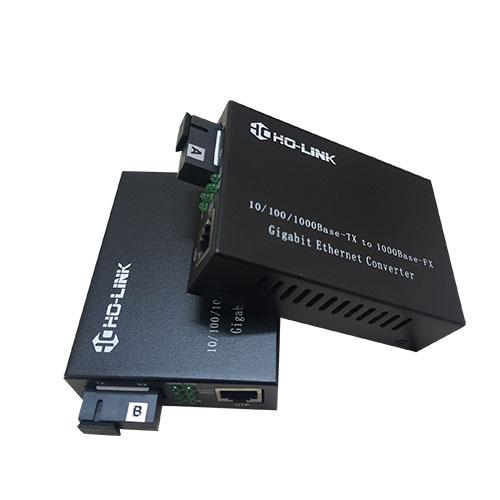 Bộ chuyển đổi quang điện 10 100 1000 mbpsHolink-HL-2111S-20A-B