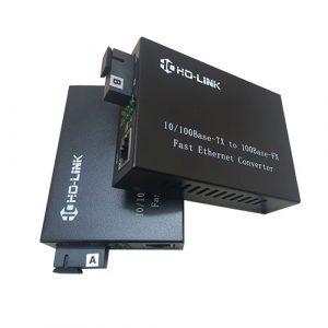 Bộ chuyển đổi quang điện 10/100Mps Holink