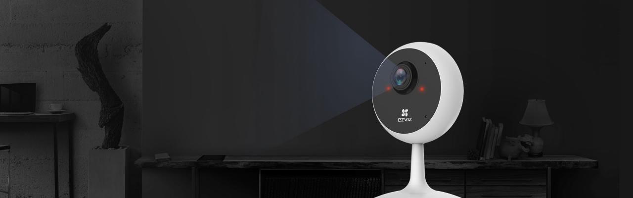 Camera WiFi không dây Ezviz C1C trong nhà 2.0MP