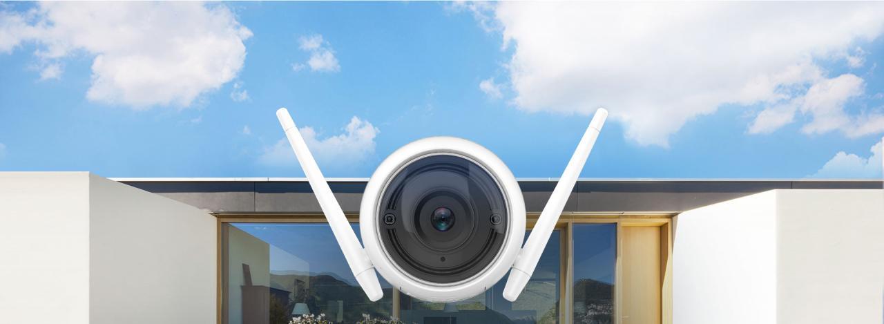 Camera WiFi không dây EZVIZ C3WN thông minh ngoài trời