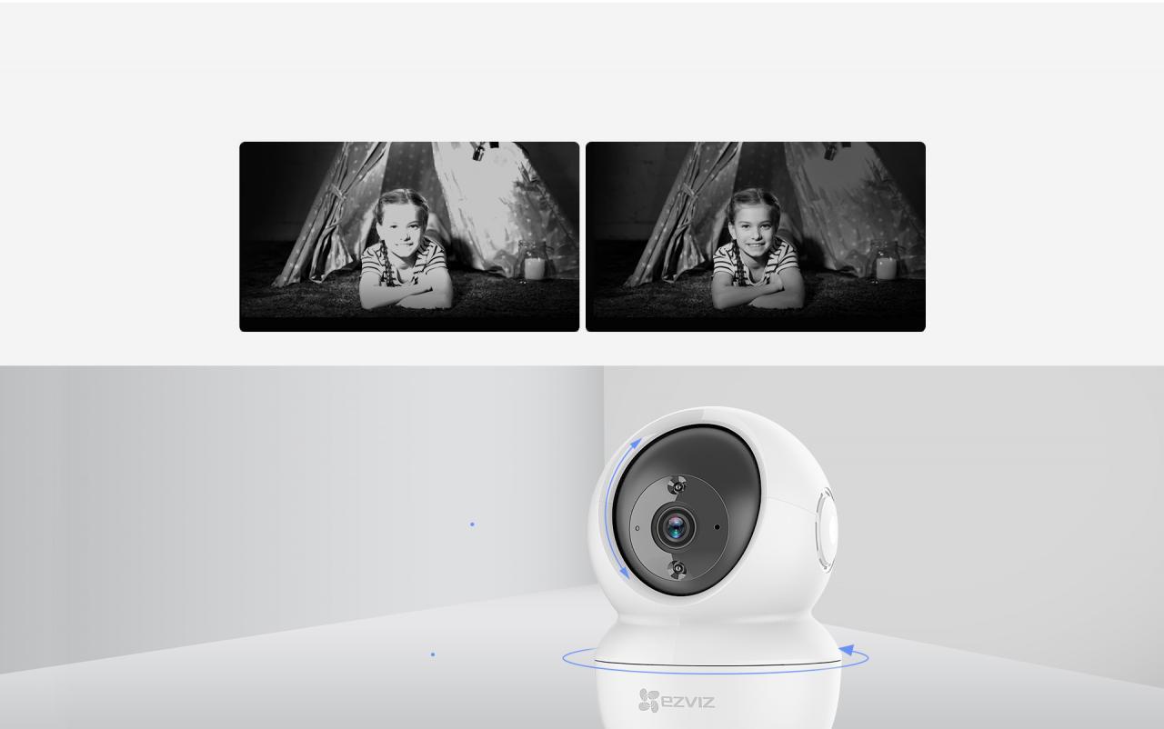 camera wifi không dây EZVIZ C6N 1080p